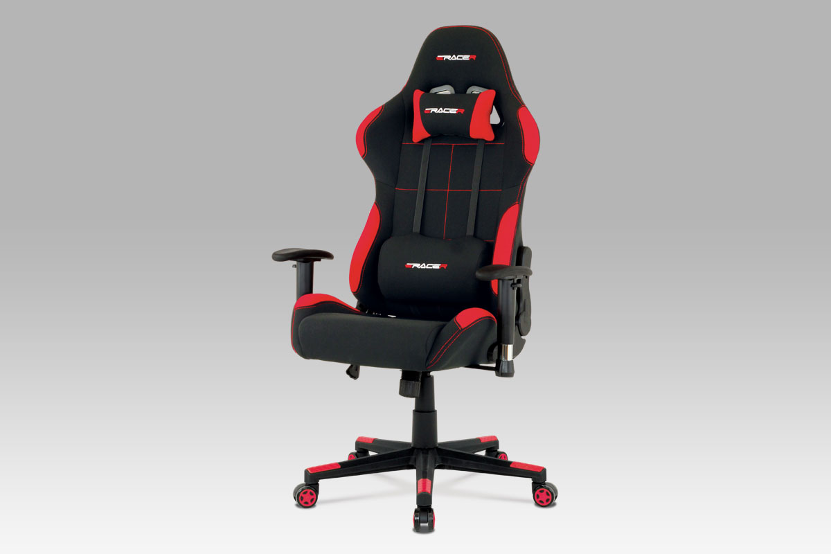 Smartshop Kancelářská židle KA-F02 RED, červená