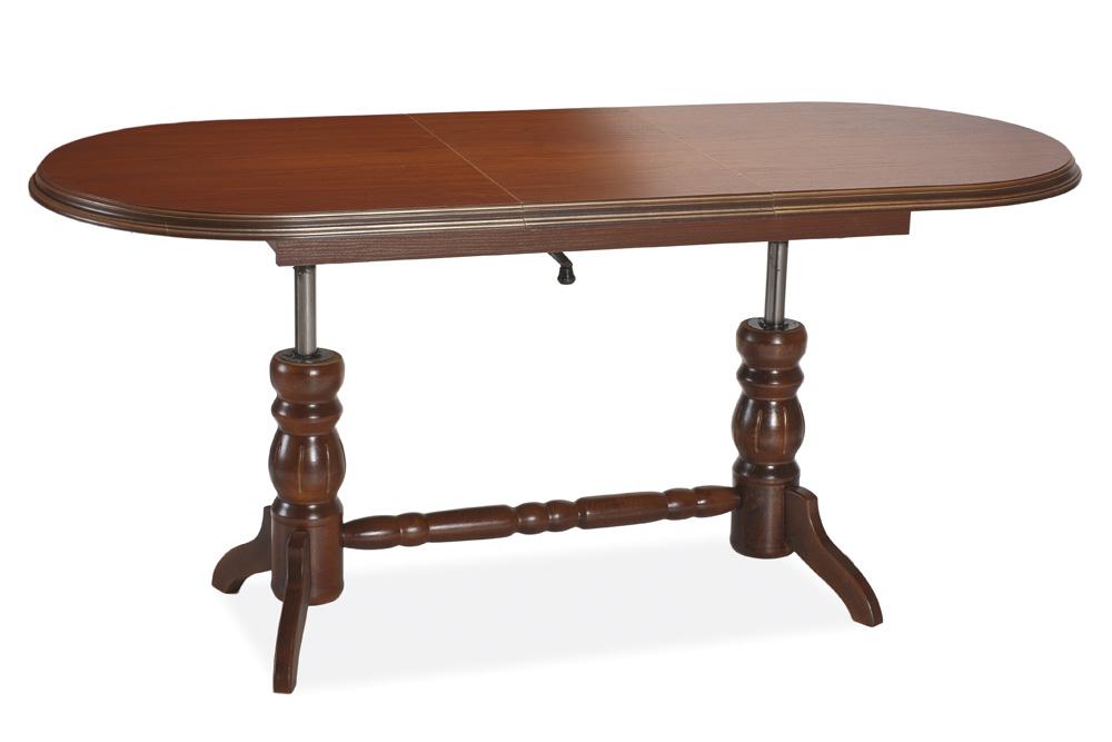 Smartshop Jídelní/konferenční stůl DANIEL rozkládací, kaštan