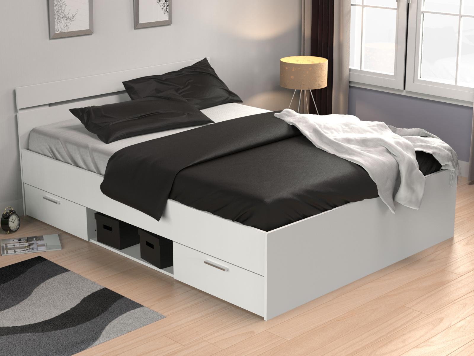 DEMEYERE MACHIGAN postel 160x200, bílá