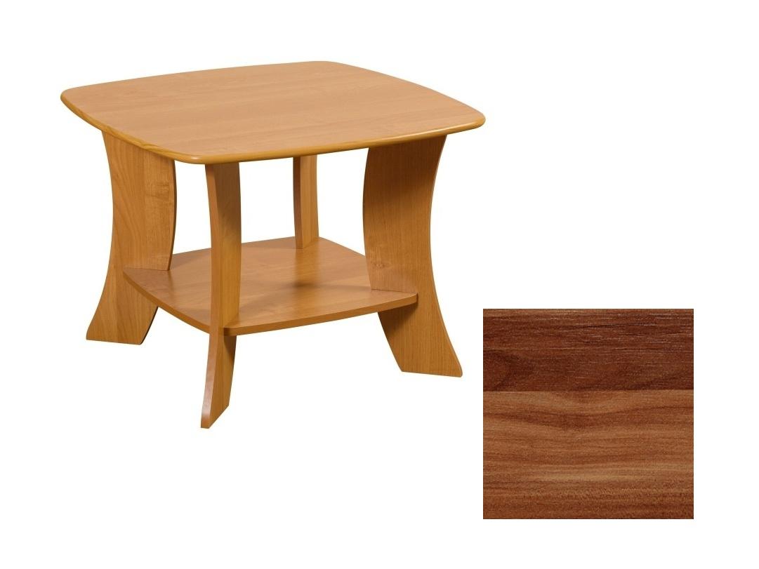 MORAVIA FLAT Konferenční stolek PARTY 6/D, barva: švestka wallis