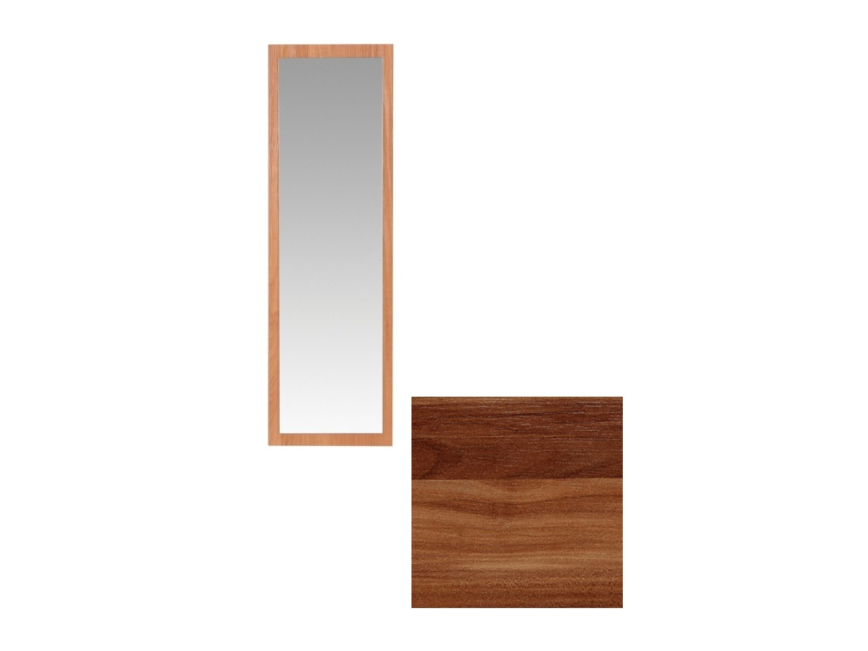 MORAVIA FLAT Obdelníkové zrcadlo CLAUDIA, švestka wallis