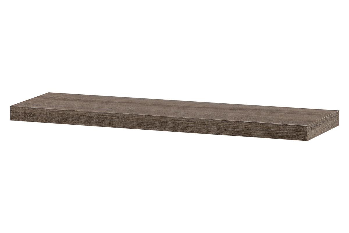 Nástěnná polička P-005 SON2, 80cm, barva tmavý dub sonoma
