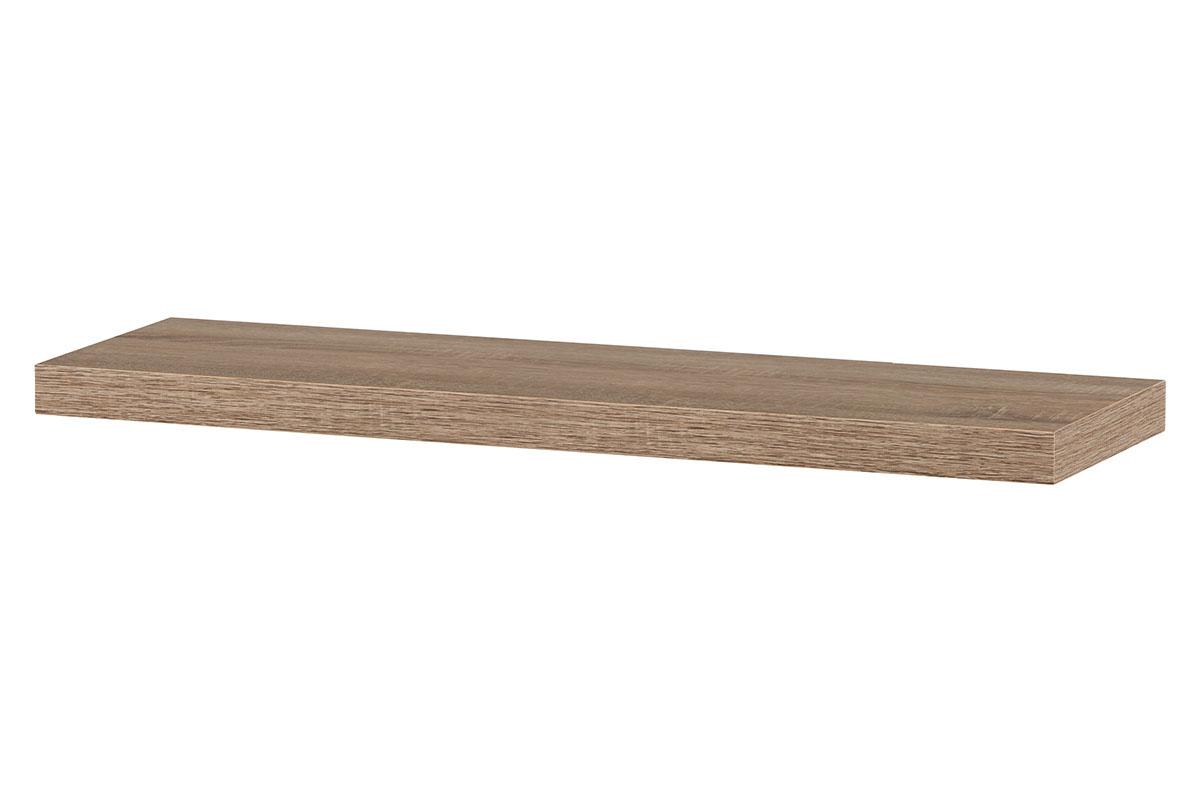 Nástěnná polička P-005 SON1, 80cm, barva dub sonoma