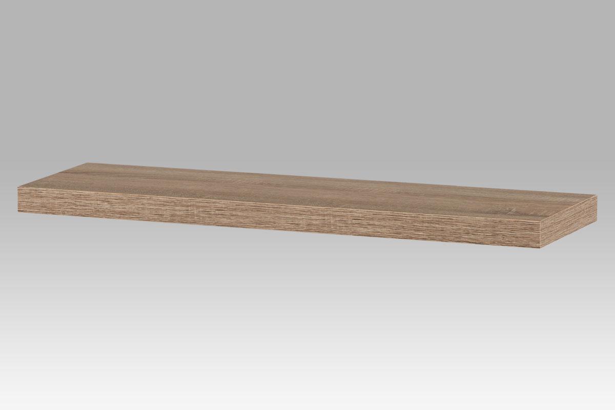 Smartshop Nástěnná polička PP-005 SON1, 80cm, barva dub sonoma