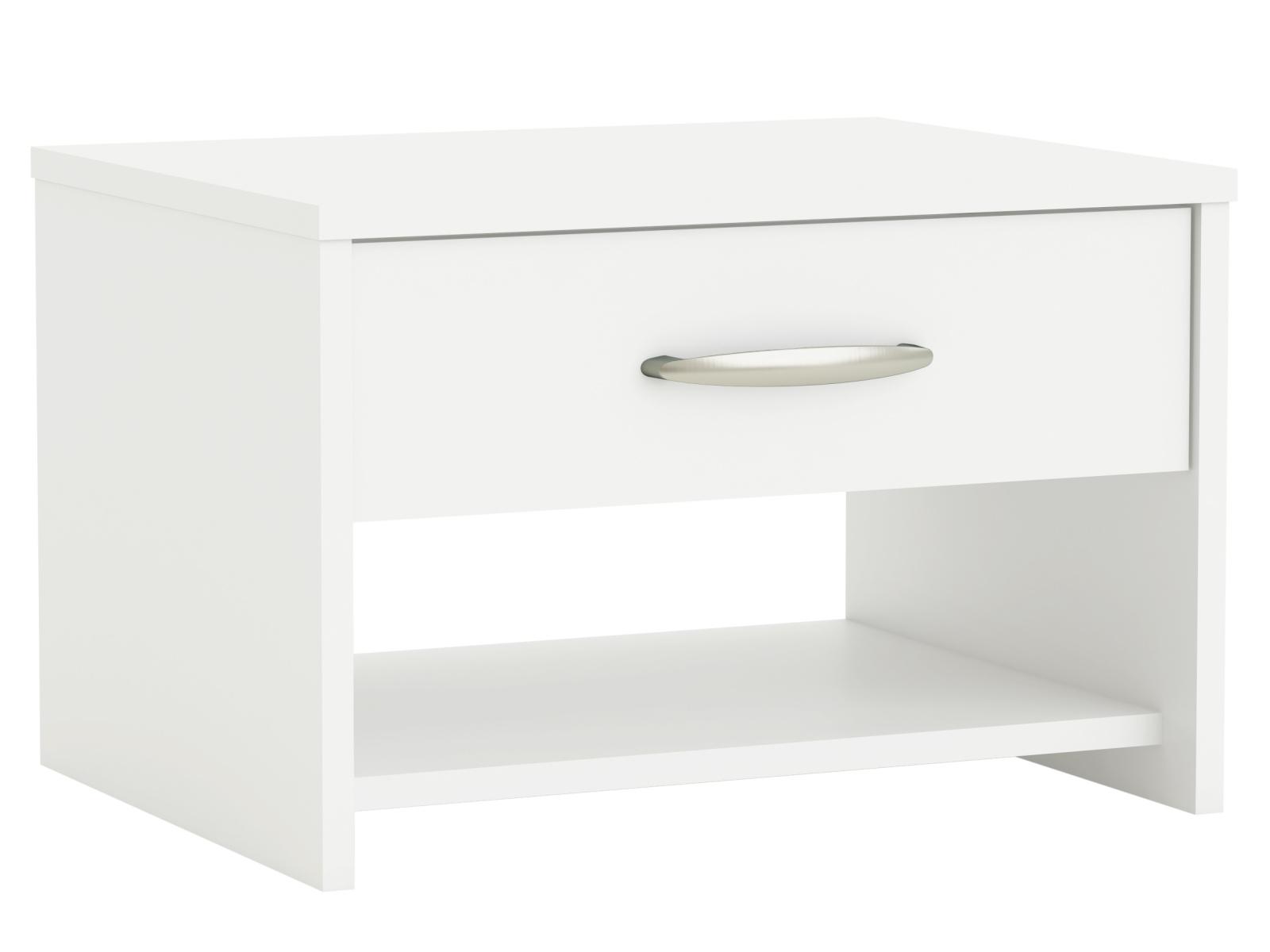 DEMEYERE MARSY noční stolek, bílá