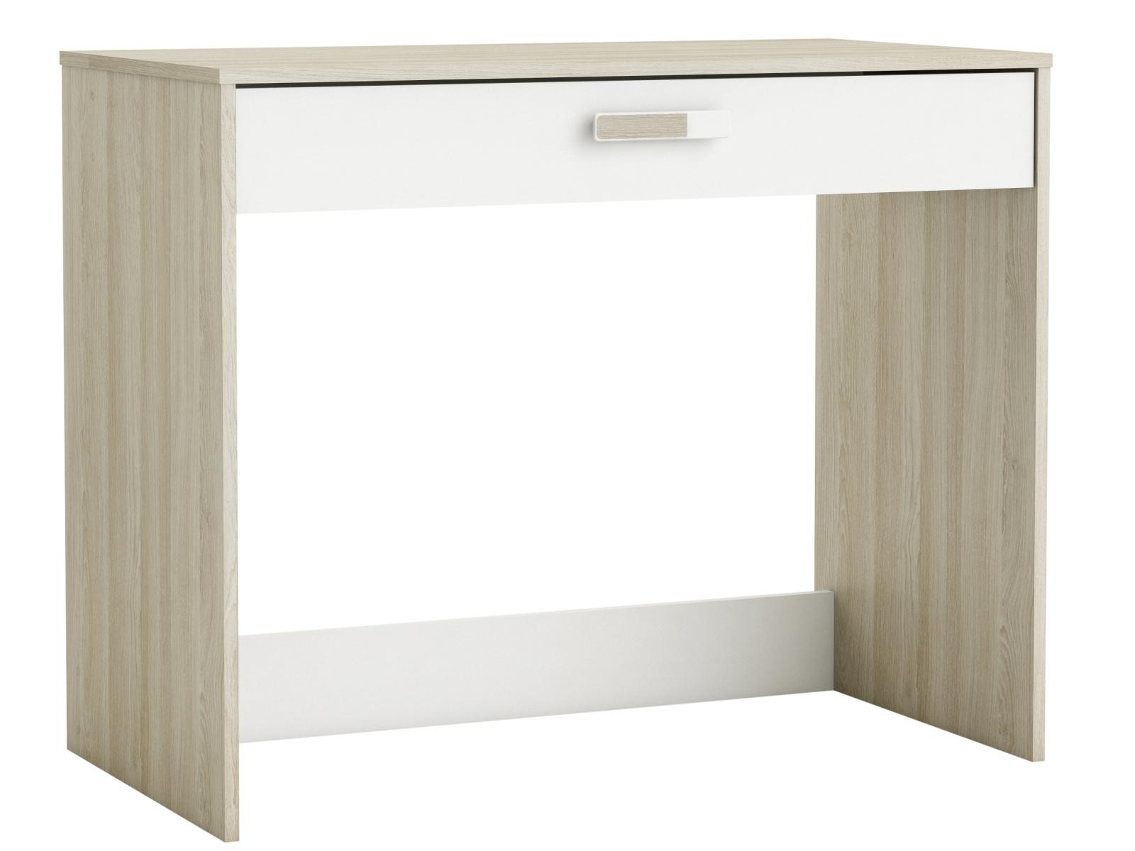 DEMEYERE SVITCH dětský psací stůl, bílá/dub shannon