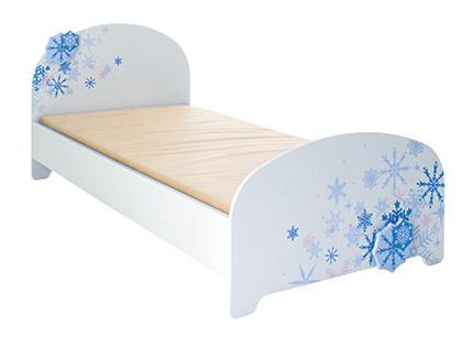 DEMEYERE FLOKON dětská postel s LED osvětlením 90x190 cm, bílá/modrá