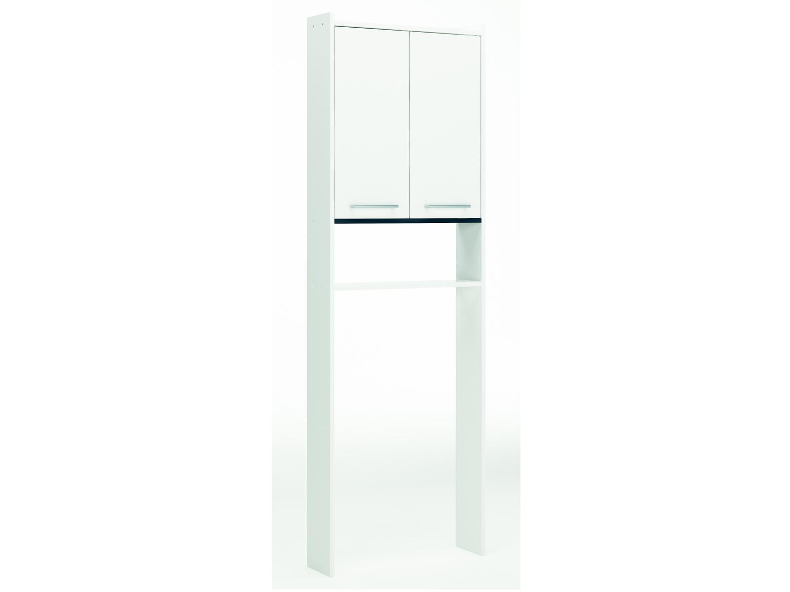 DEMEYERE NAREA skříňka nad WC, bílá/grafit