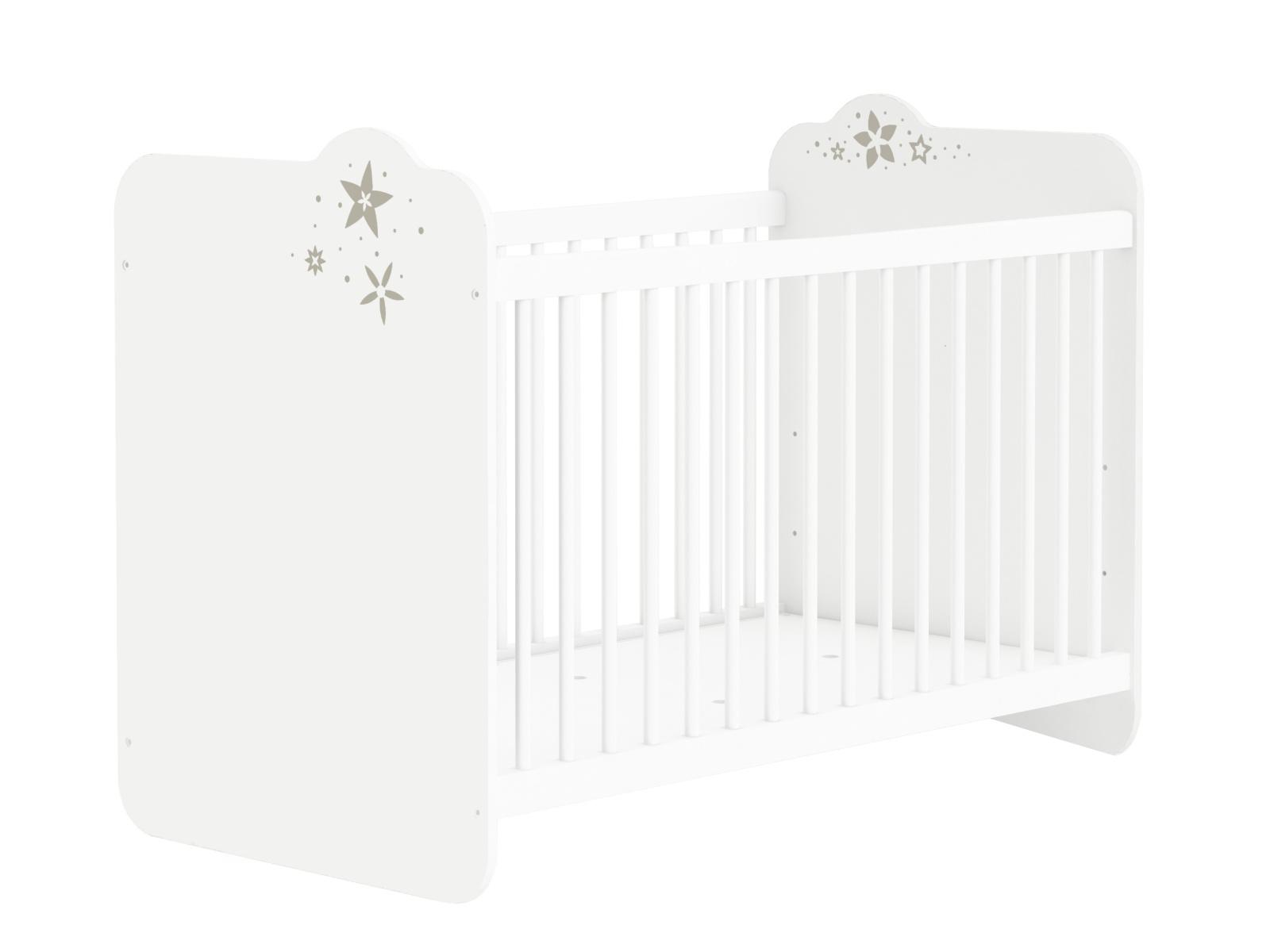 DEMEYERE CELISTE dětská postýlka 60x120, bílá