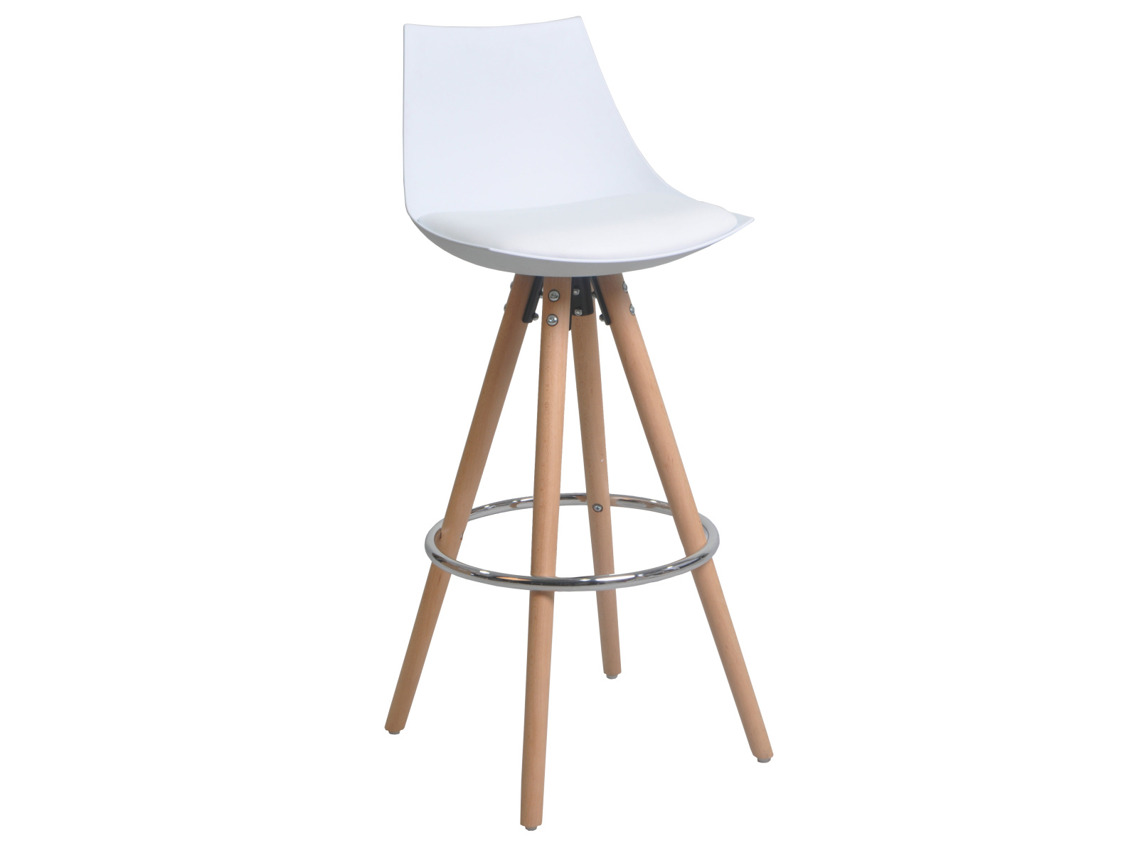 DEMEYERE MELANO barová židle, bílá
