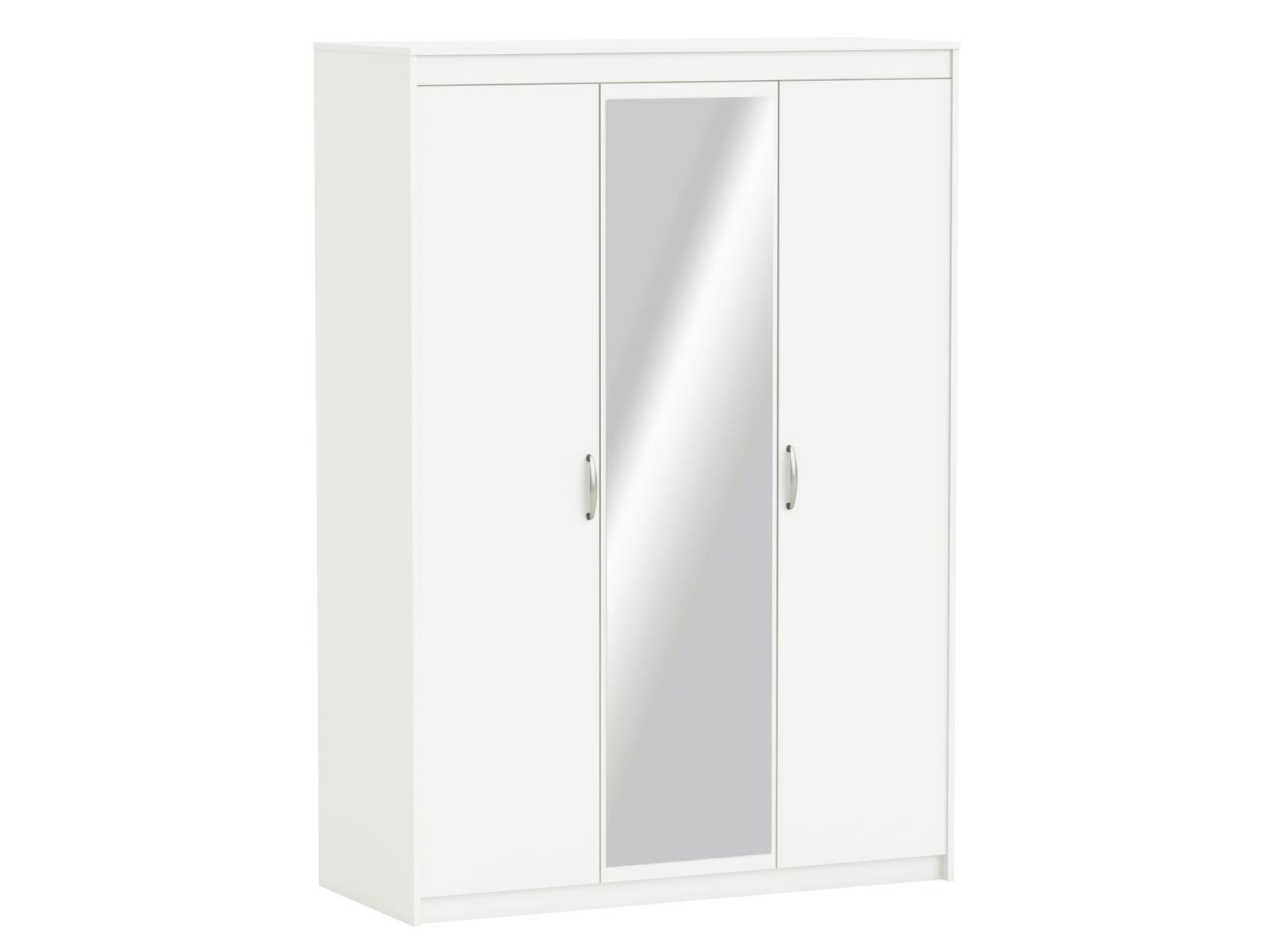 DEMEYERE MARSY skříň se zrcadlem 3D, bílá