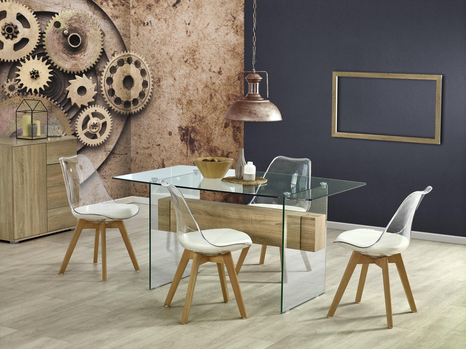 Halmar Jídelní stůl BERGEN 150x90 cm, dub sonoma