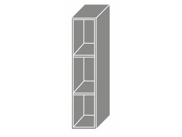 Extom TITANIUM, skříňka horní W15, bílá