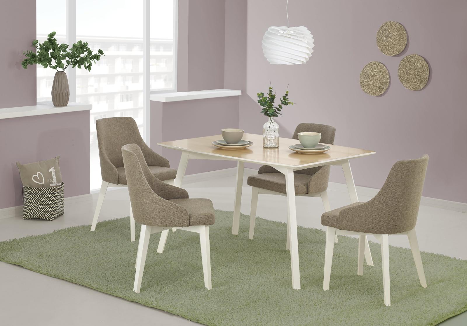 Halmar Jídelní stůl PETRUS 120x85 cm, buk