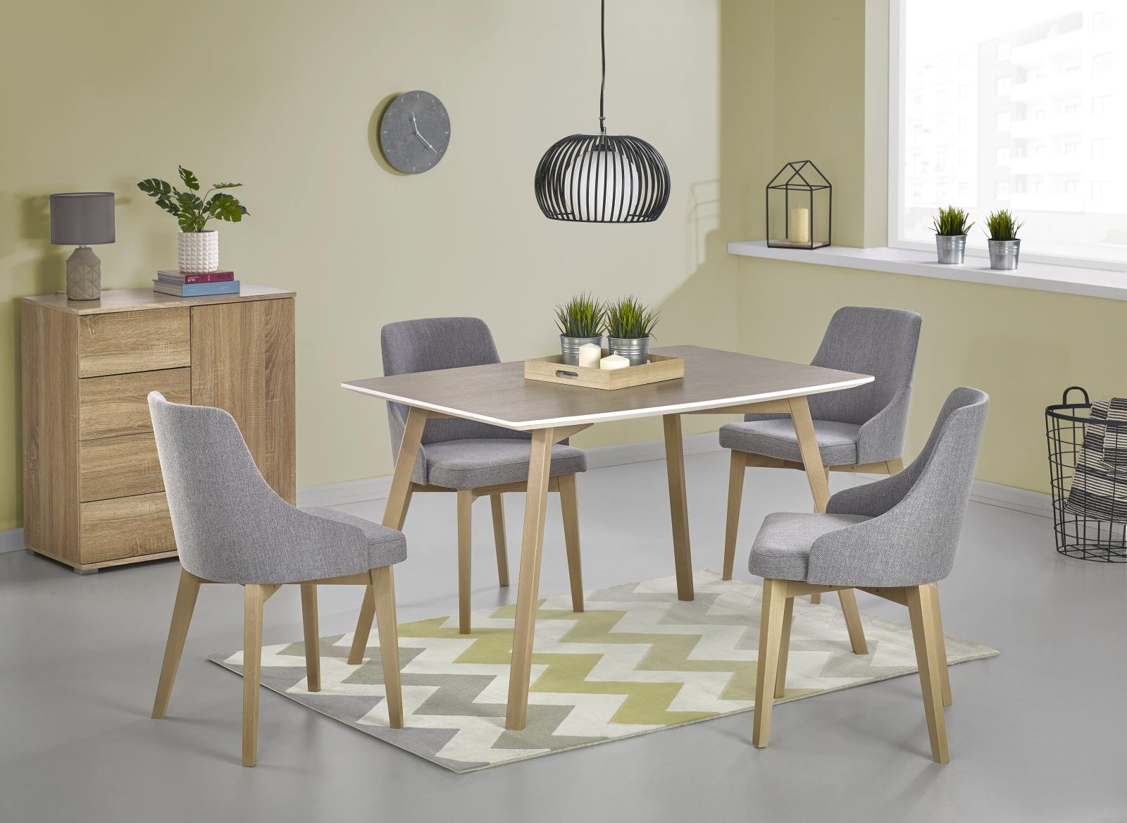 Halmar Jídelní stůl PETRUS 120x85 cm, dub sonoma