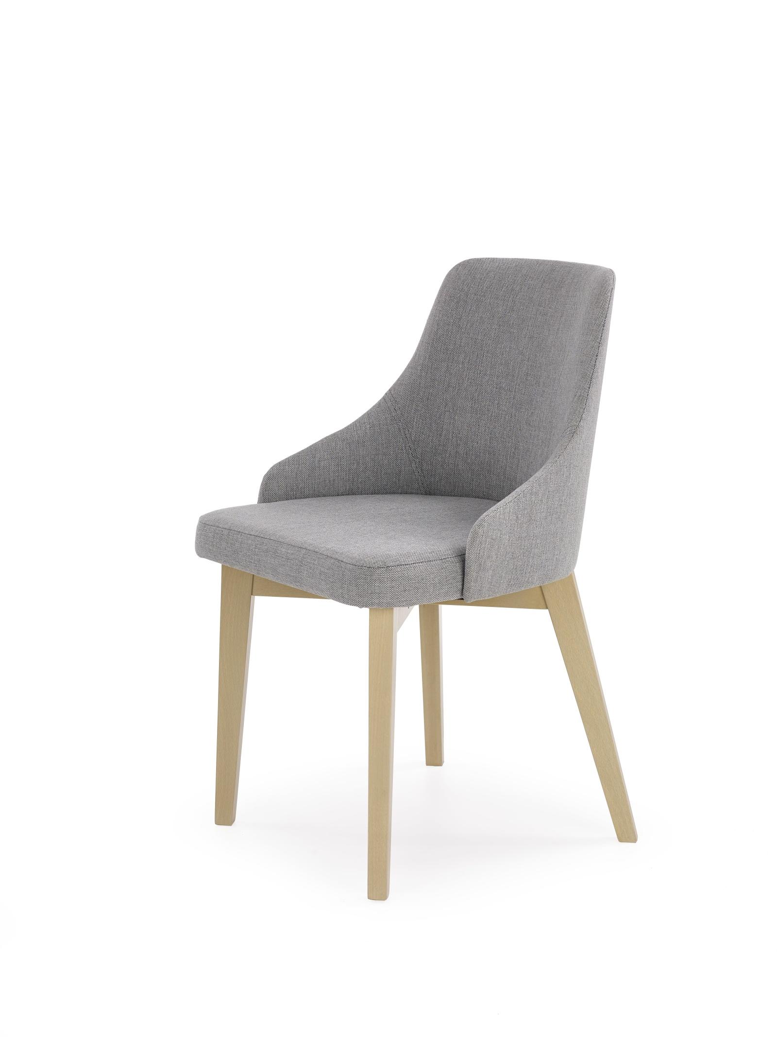 Jídelní židle SUHAIL, dub sonoma/ světle šedá