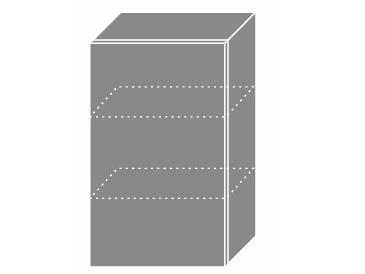 Levně SILVER+, skříňka horní W2 45, korpus: grey, barva: latte