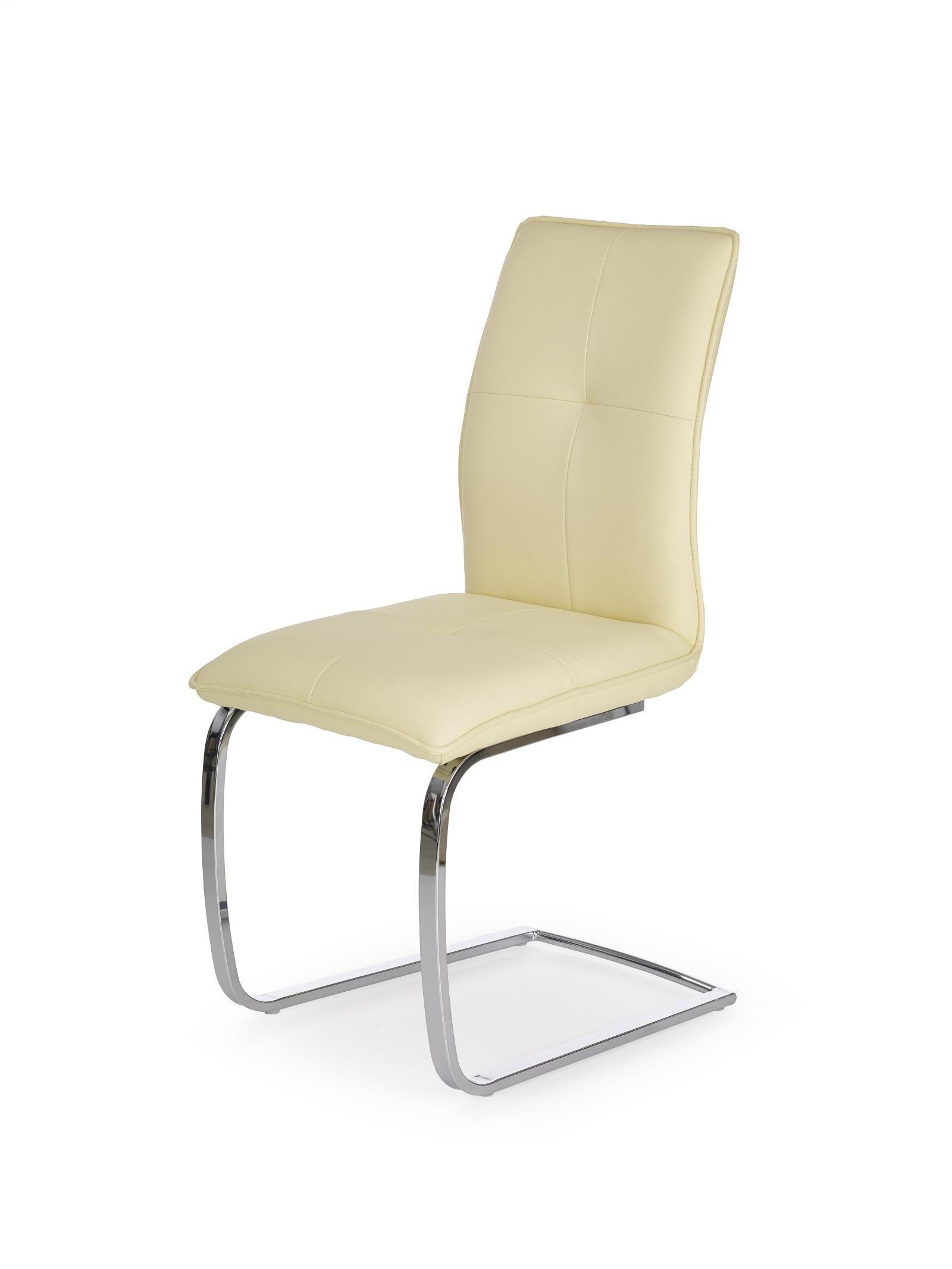 Halmar Jídelní židle K252, vanilka