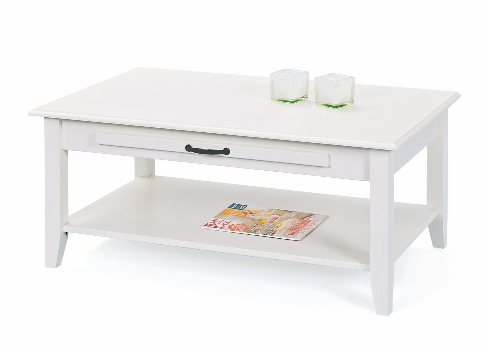 Halmar Konferenční stolek CASSALA, bílý