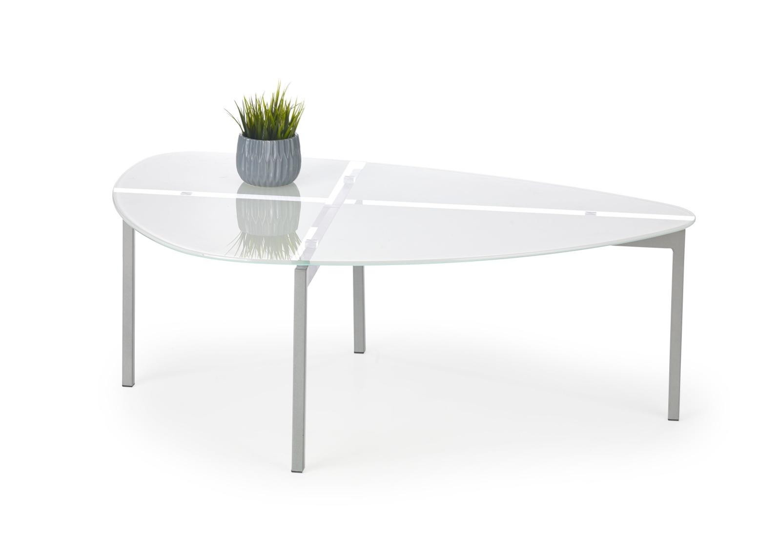 Halmar Konferenční stolek ERIKA, bílý