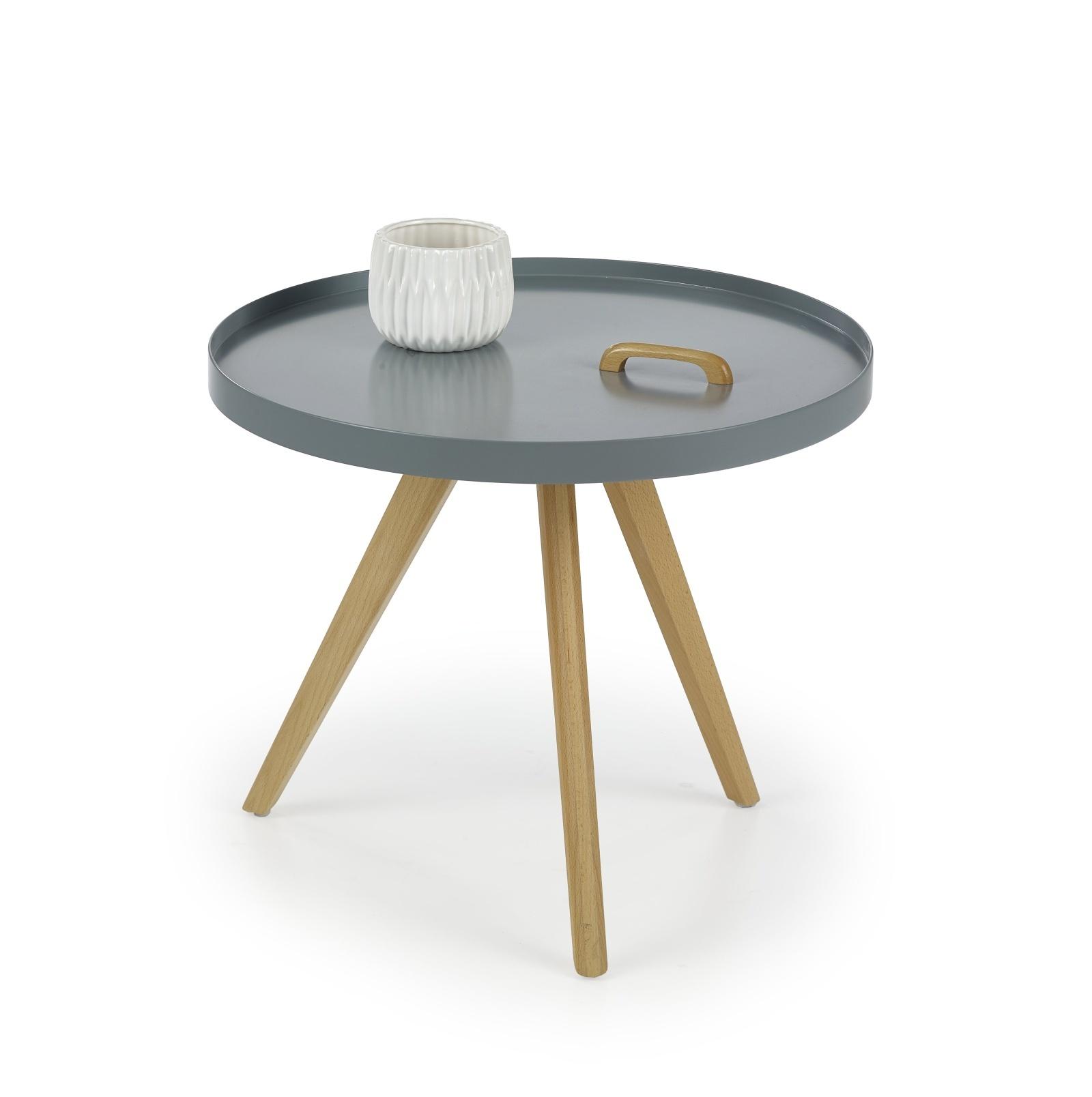Konferenční stolek LUKA, šedý
