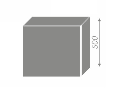 QUANTUM, skříňka horní na digestoř W8 60, beige mat/lava