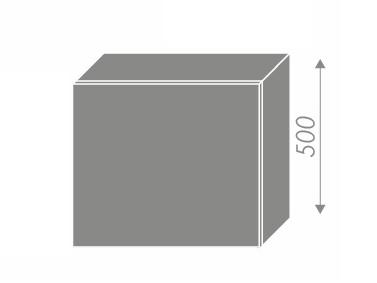 QUANTUM, skříňka horní na digestoř W8 60, vanilla mat/bílá