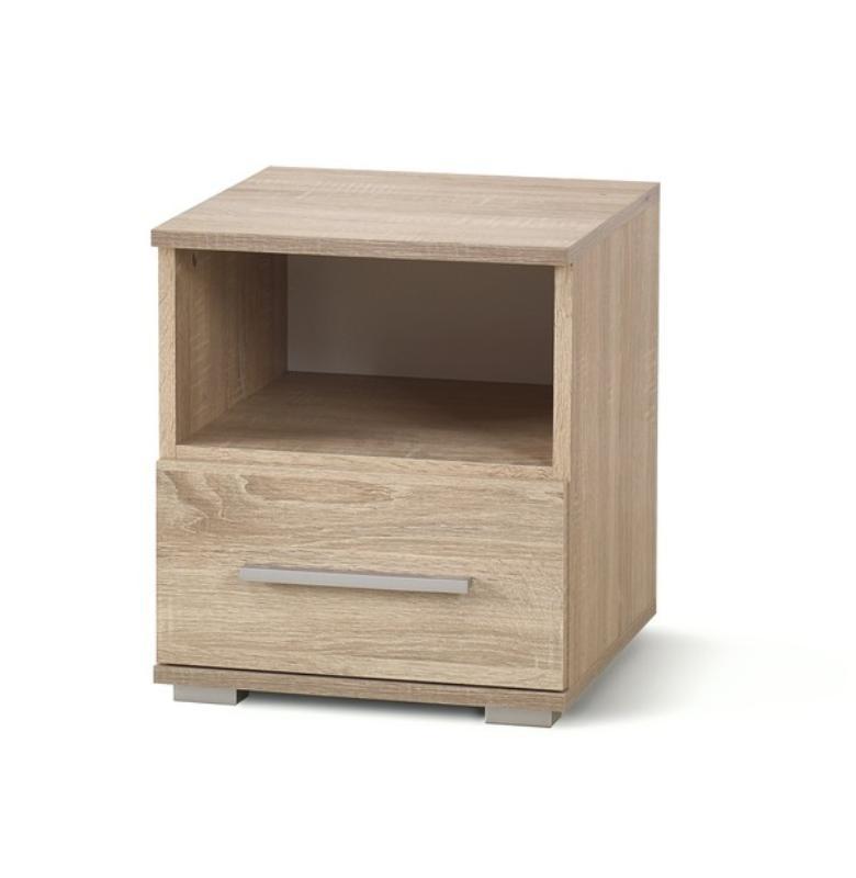 Noční stolek LIMA SN1, dub sonoma