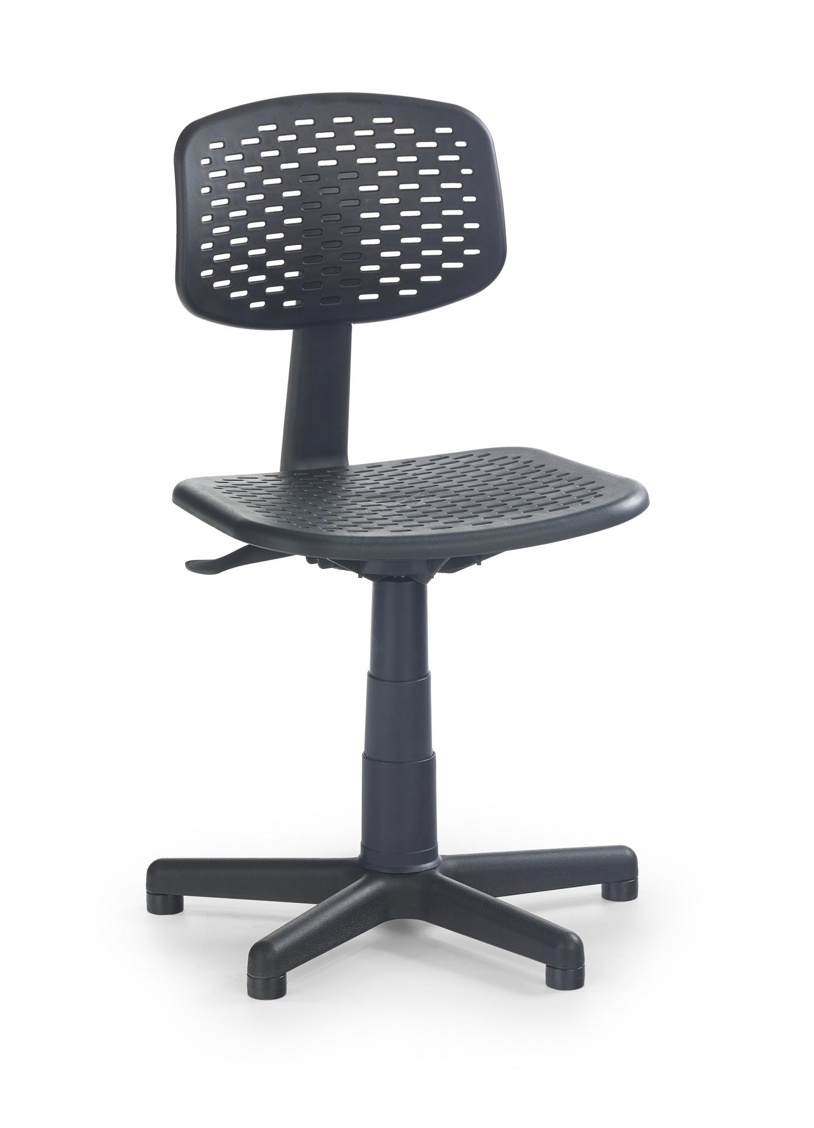 Halmar Dětská židle LOCO, černá