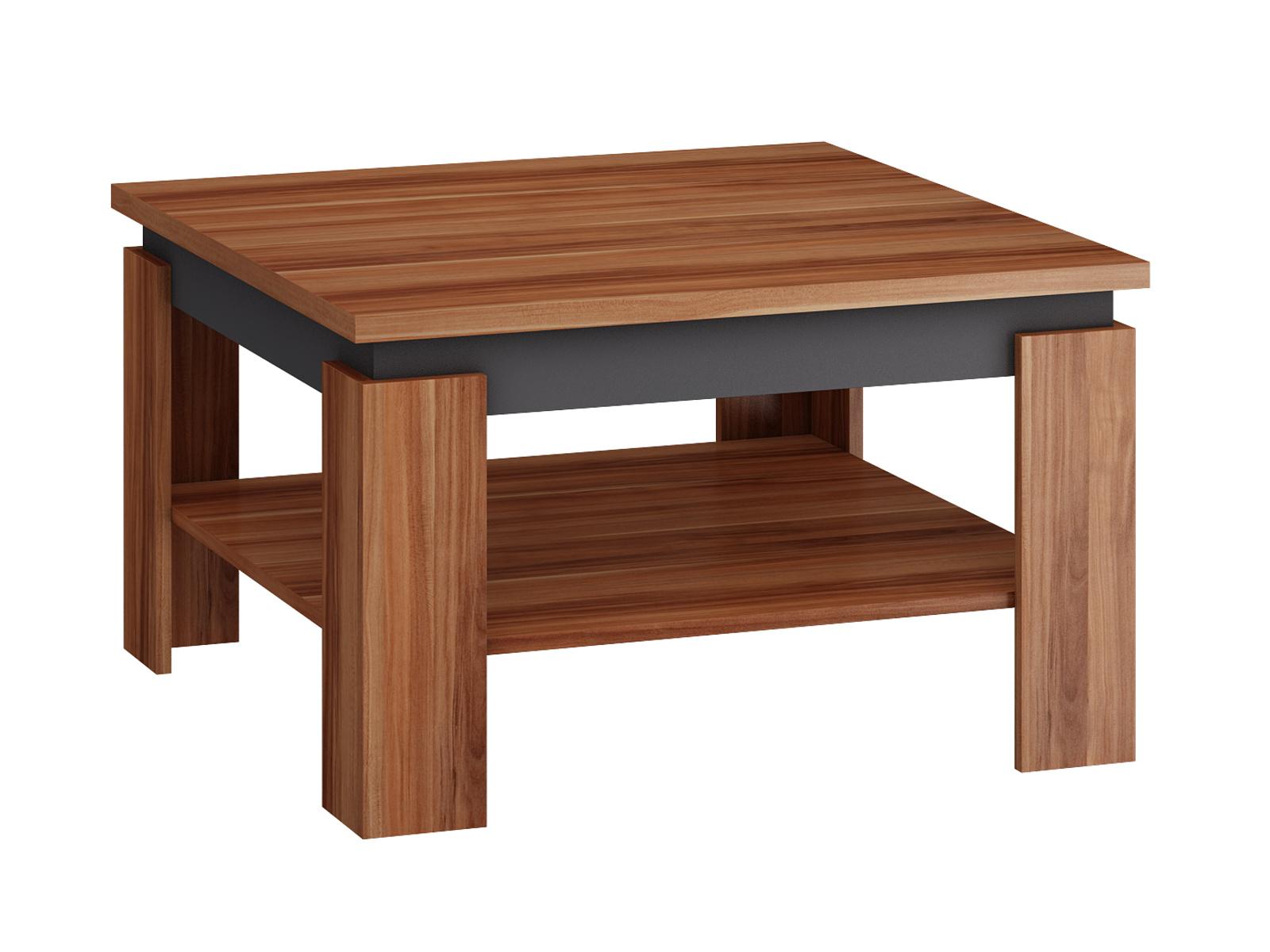 MORAVIA FLAT Konferenční stolek ALFA, švestka wallis/grafit