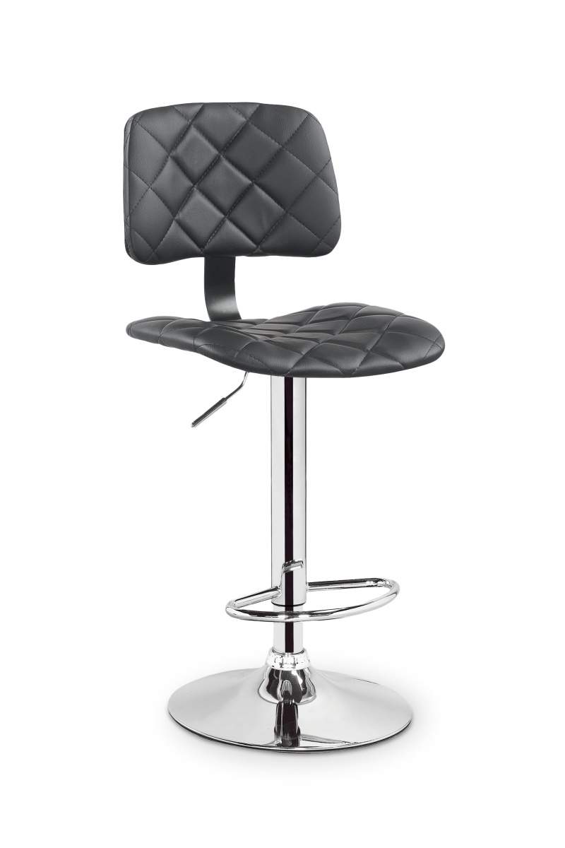 Halmar Barová židle H74, černá