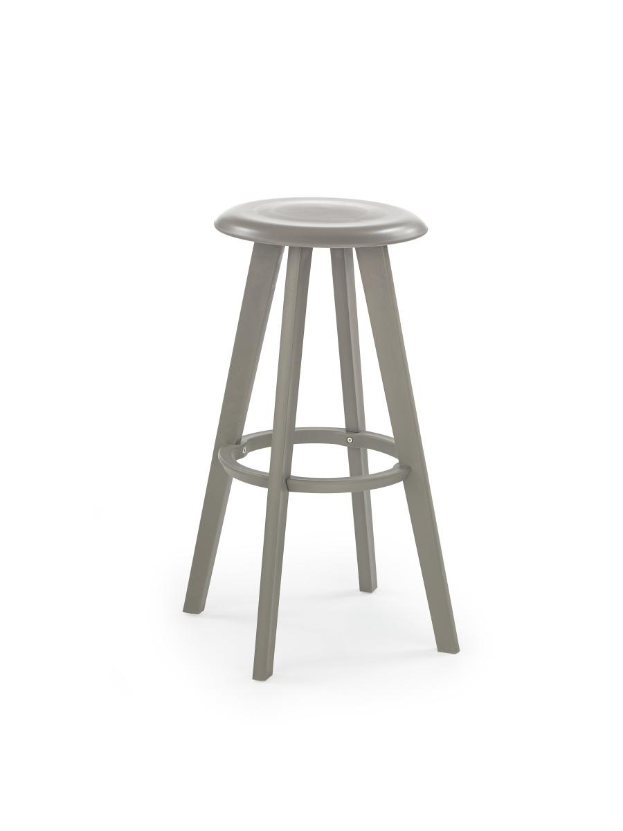 Smartshop Barová židle H77, šedá