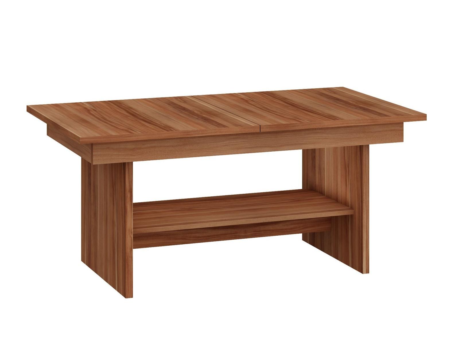 MORAVIA FLAT Konferenční stolek DALLAS rozkládací MAT, barva: švestka wallis