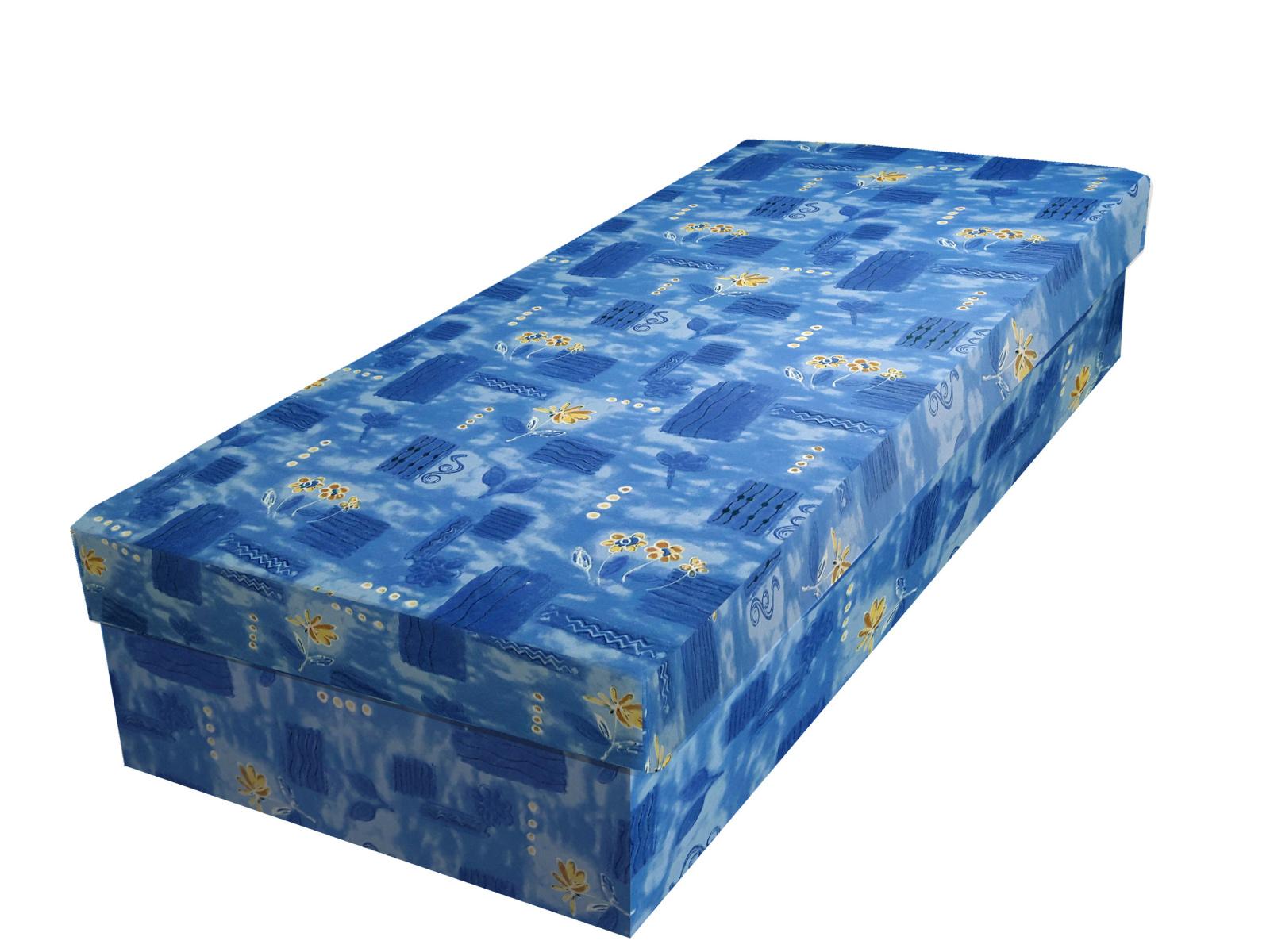 Smartshop Válenda IVAN 140x200 cm, modrá látka
