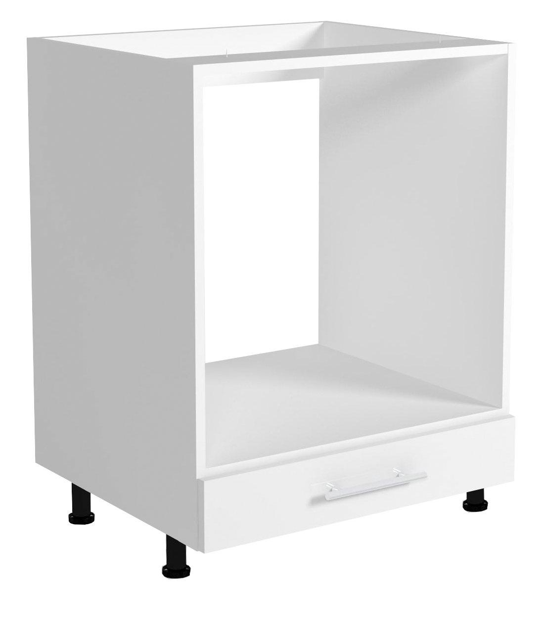 Skříňka pro vestavnou troubu VENTO DP-60/82, dvířka: bílý lesk