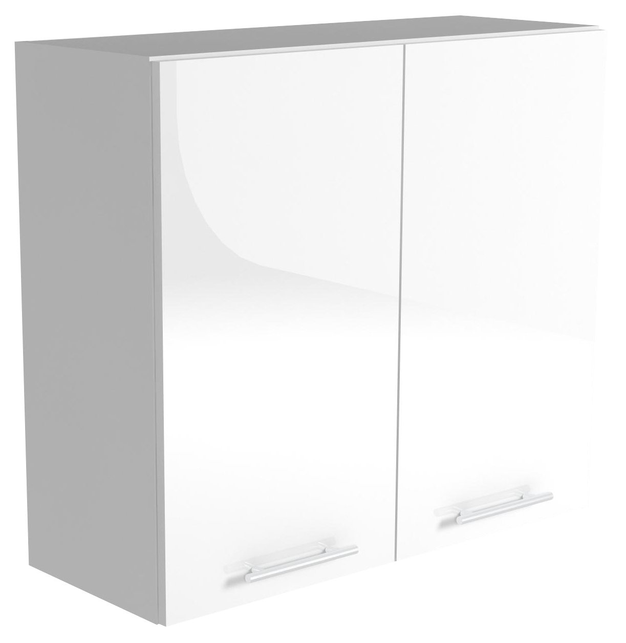 Halmar Horní skříňka VENTO G-80/72, dvířka: bílé lesk