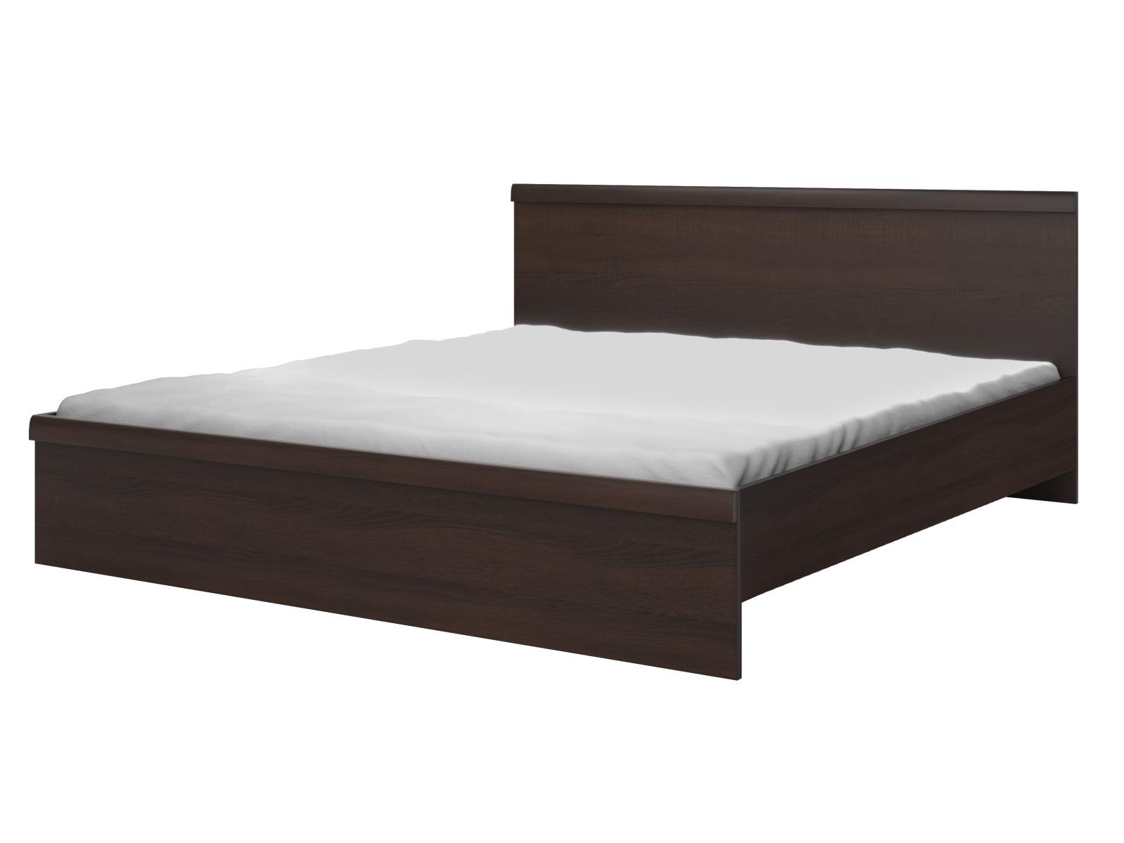 Smartshop MESTRE postel 160x200 cm TYP 31, dub sonoma tmavý