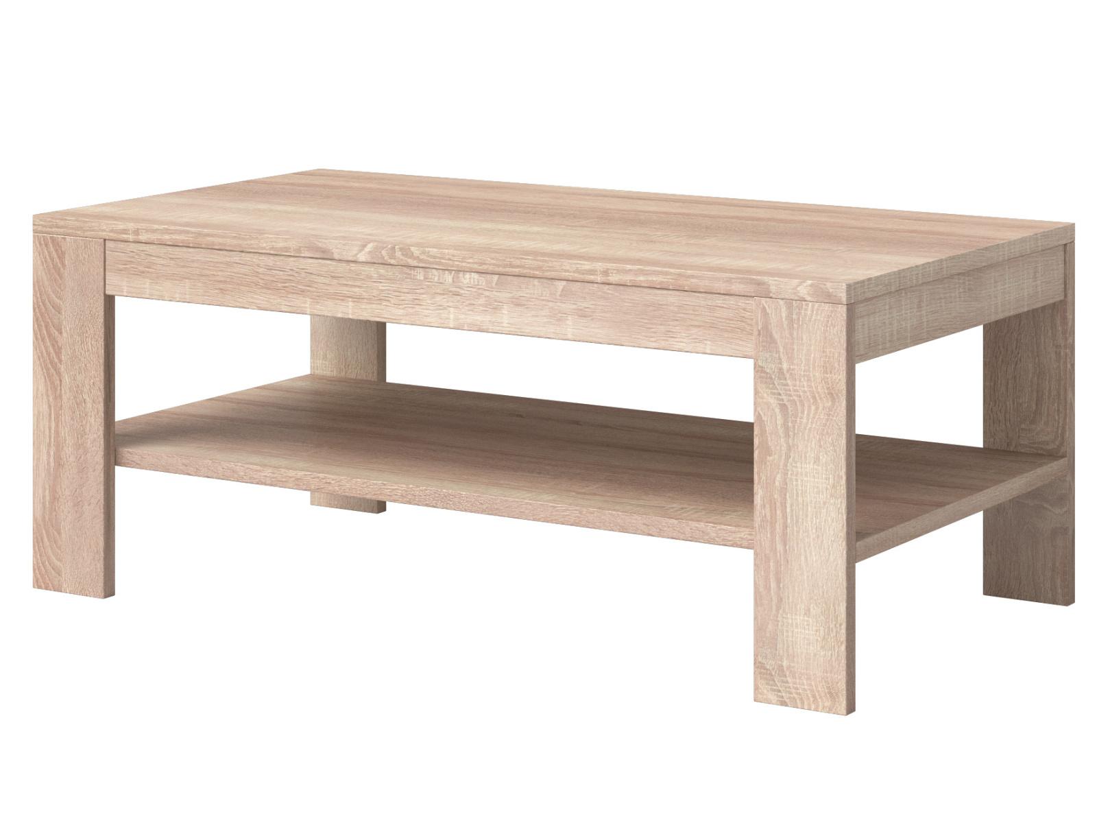 Smartshop NEMESIS konferenční stolek TYP 99, dub sonoma světlý