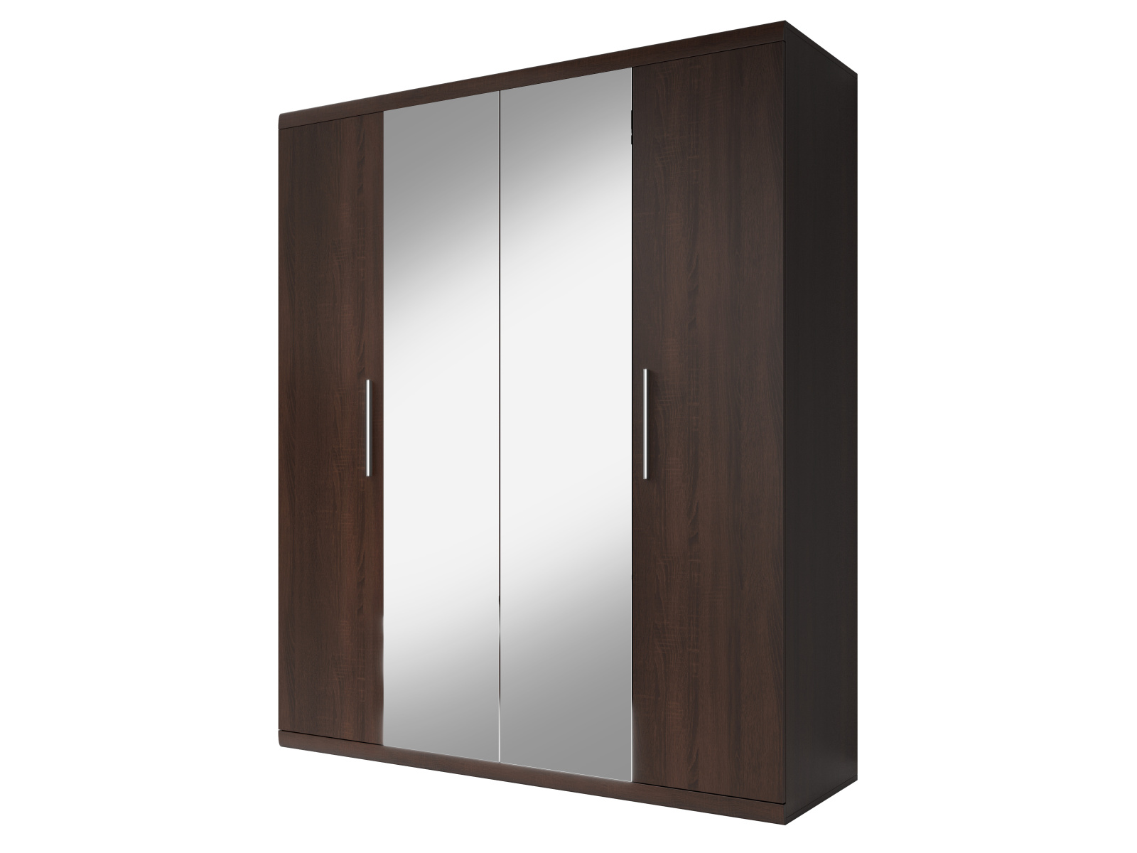 Smartshop MESTRE šatní skříň se zrcadlem 180 TYP 20, dub sonoma tmavý