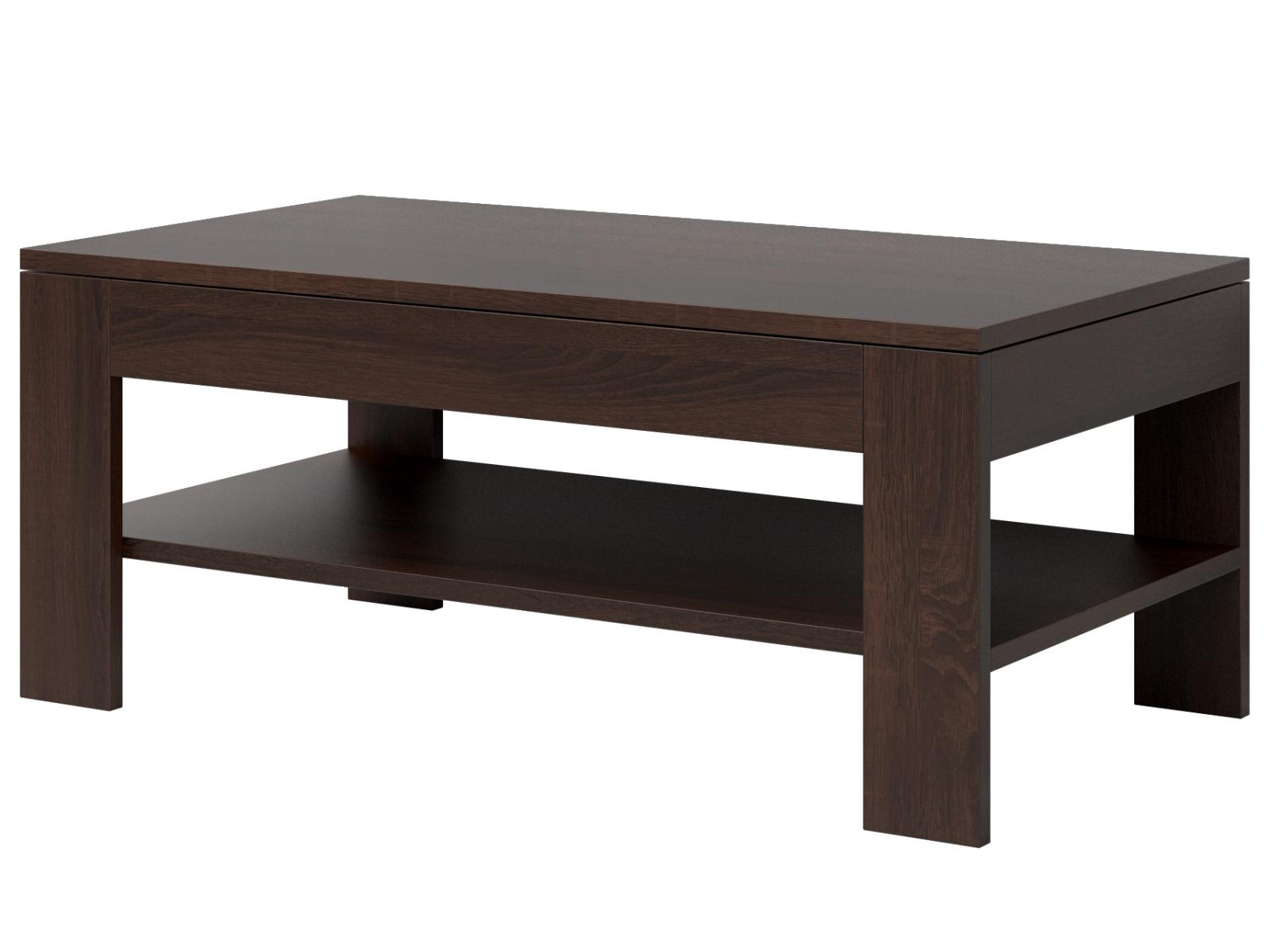 Smartshop MESTRE konferenční stolek TYP 99, dub sonoma tmavý