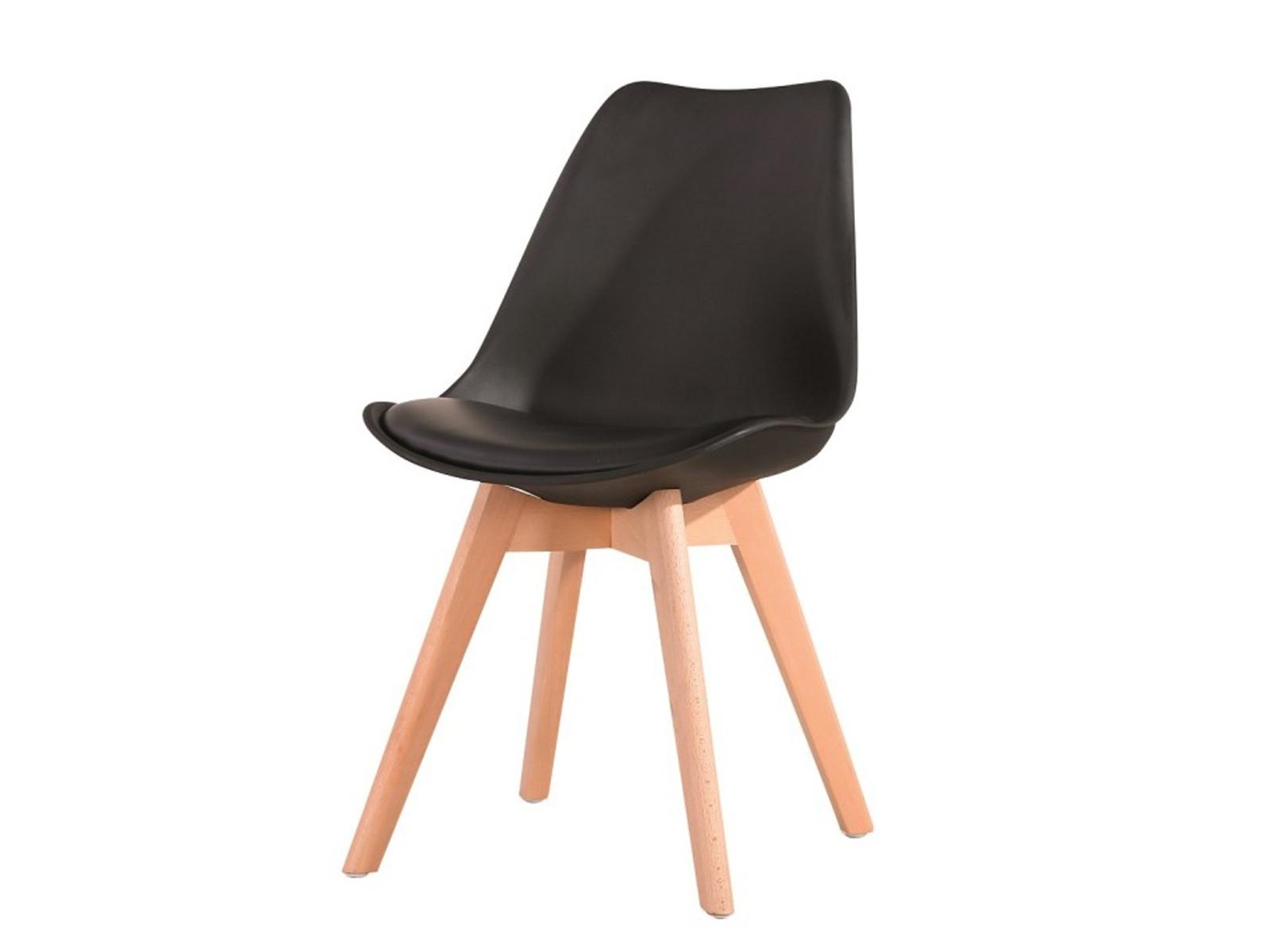Tempo Kondela Židle BALI NEW, černá/buk