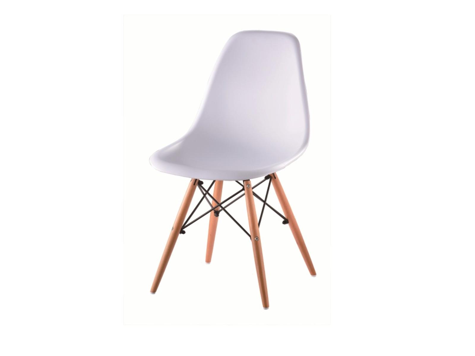 Smartshop Jídelní židle CINKLA NEW, bílá/buk