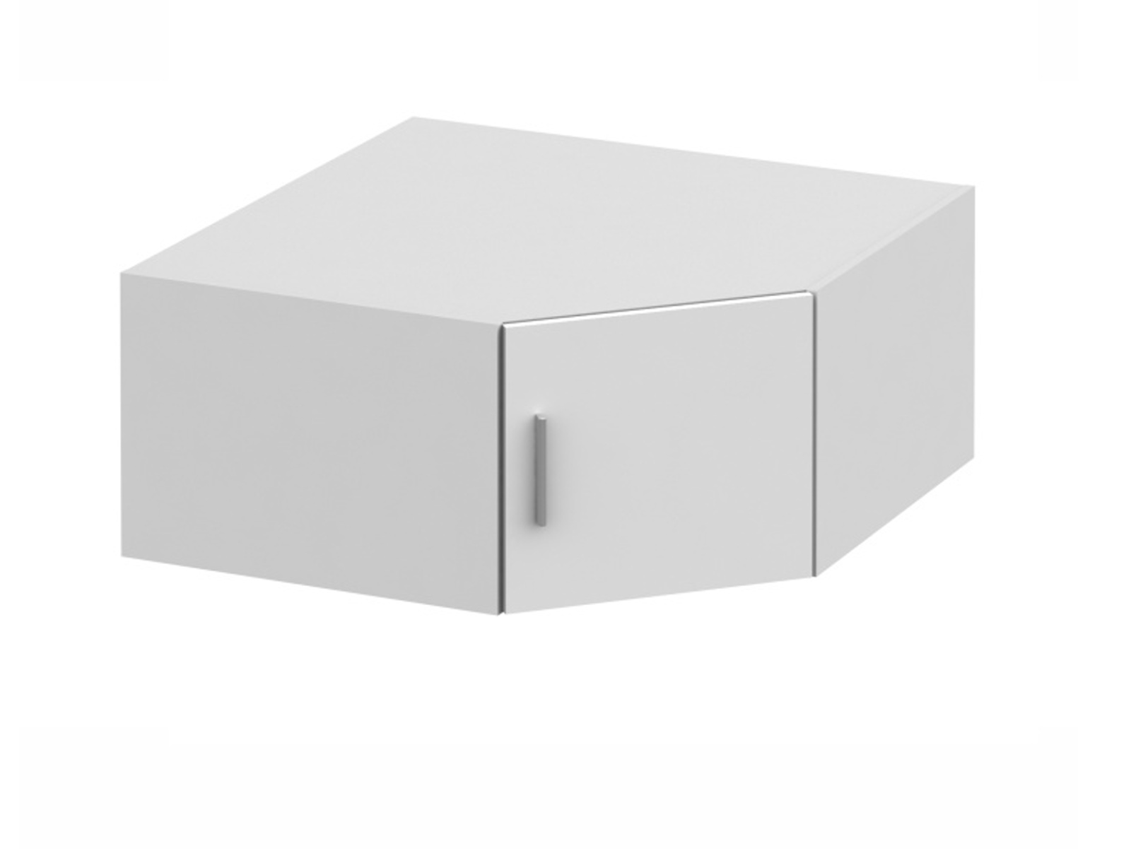Tempo Kondela INVITA TYP 8 nástavec na skříň, bílý