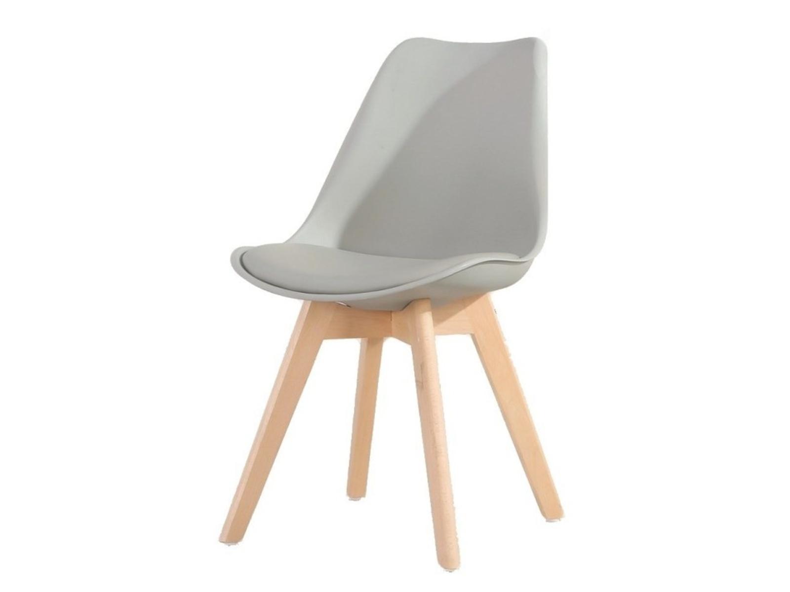 Tempo Kondela Židle BALI NEW, šedá/buk