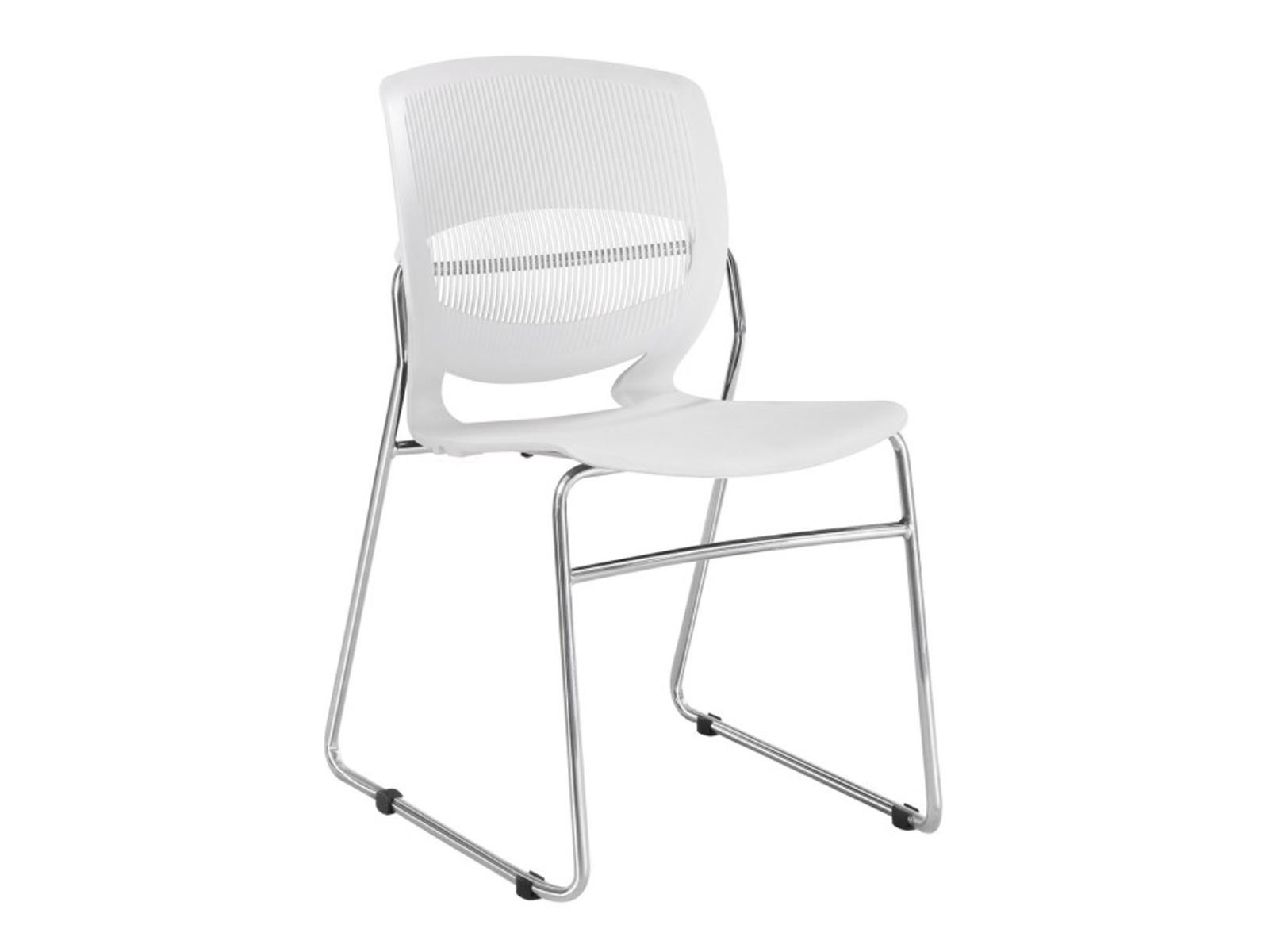 Židle IMENA, bílá