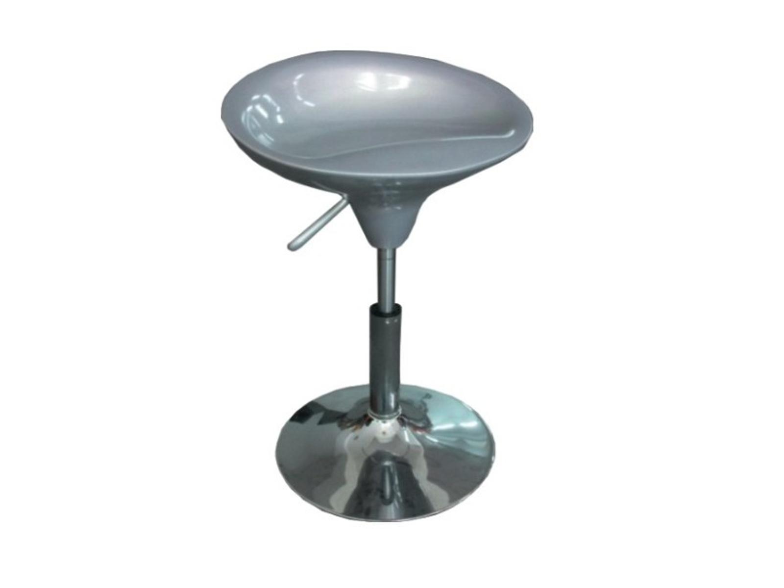 Židle KARMIN NEW, stříbrná