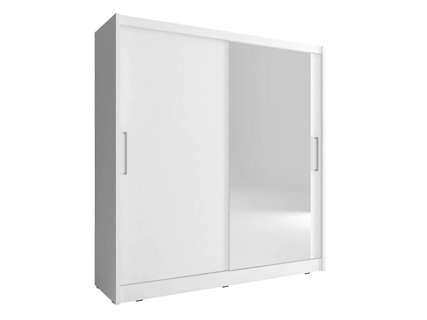Smartshop Skříň MAJA I se zrcadlem 180 cm, bílá