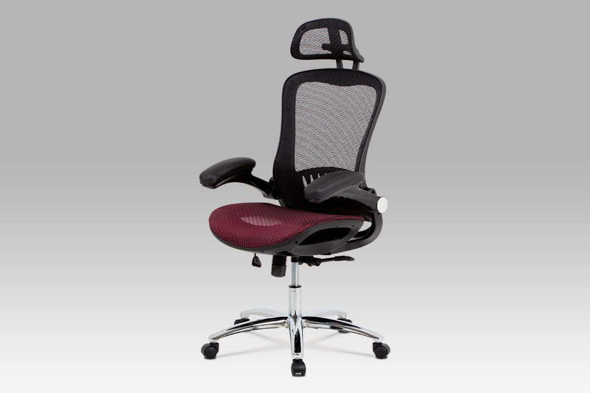 Smartshop Kancelářská židle KA-A185 RED, černá/červená