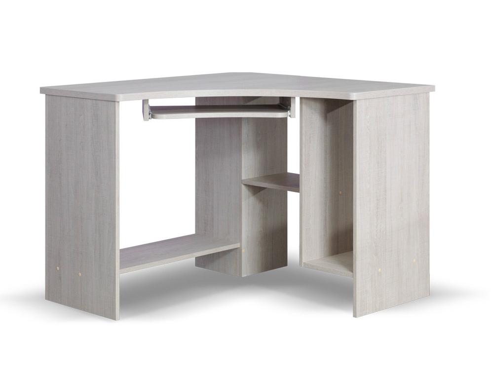 Smartshop TENUS rohový PC stůl, dub santana