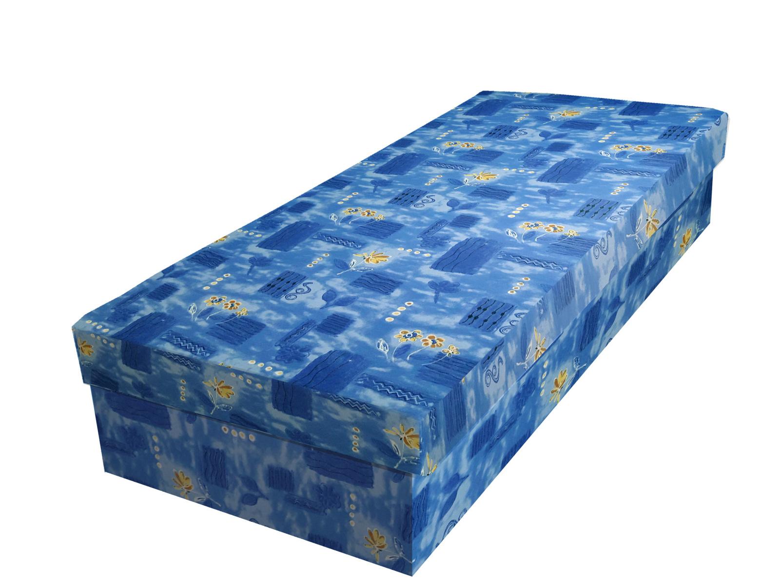 Smartshop Válenda JUNIOR 80x195 cm, modrá látka OSOBNÍ ODBĚR DOPRODEJ